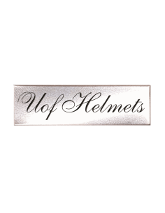 SILVER NAME PLATE FOR SHELL